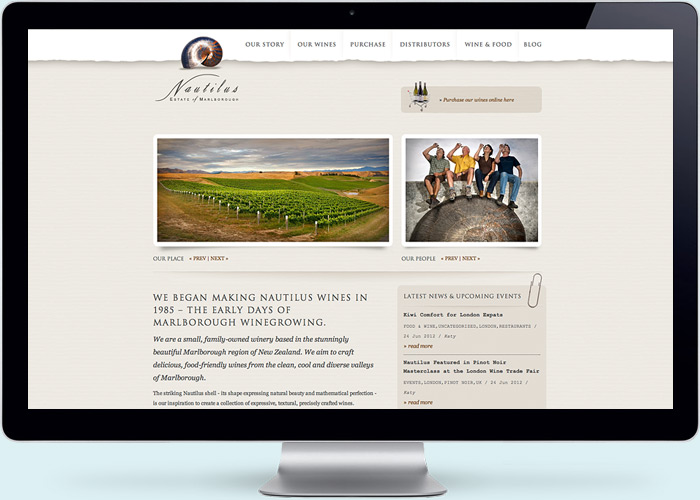 Nautilus Website
