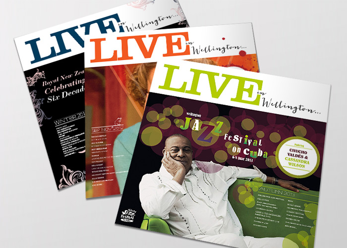 'Live In Wellington' Magazine