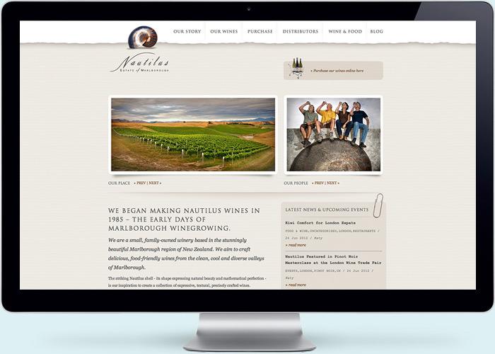Nautilus Website